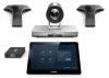 Yealink VC800-VCM-CTP-VCH - Système de visioconférence SIP/H.323 - HD - Double écran