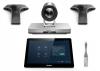 Yealink VC800-VCM-CTP-WP - Système de visioconférence SIP/H.323 - HD - Double écran